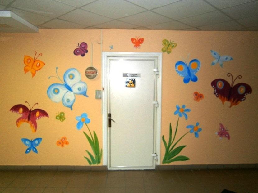 Декор. Фото. Бабочки на стену для декора.