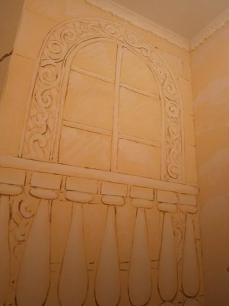 Дизайн оформления лестницы.
