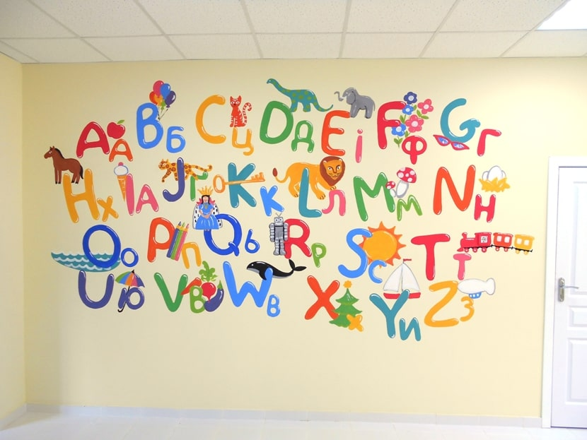 Детская, дизайн детской комнаты для двух.