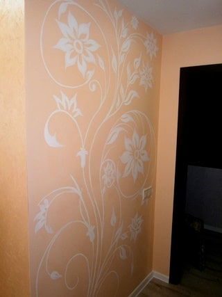 Роспись стен в интерьере. Реклама ручной росписи стен.