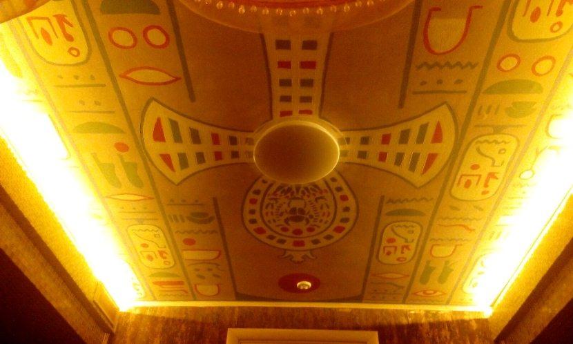 Рисунки для потолков и стен. Рисунок на потолке бани.