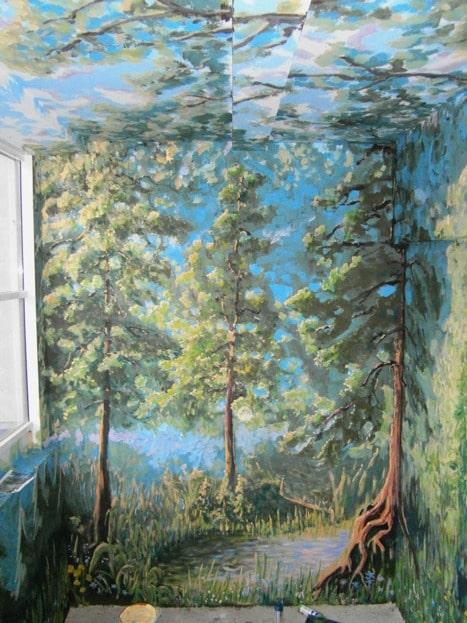 Роспись стен и потолков. Роспись стен. Лучшие ценовые предложения.