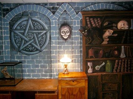 Отделка стен росписью. Рисунки для росписи стен.