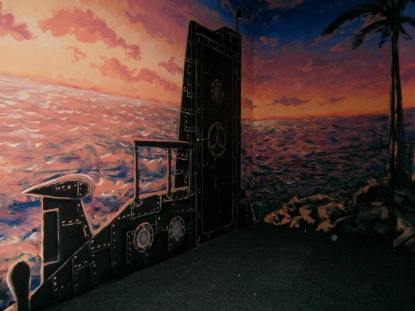 Декоративная роспись стен в интерьере, в детской.